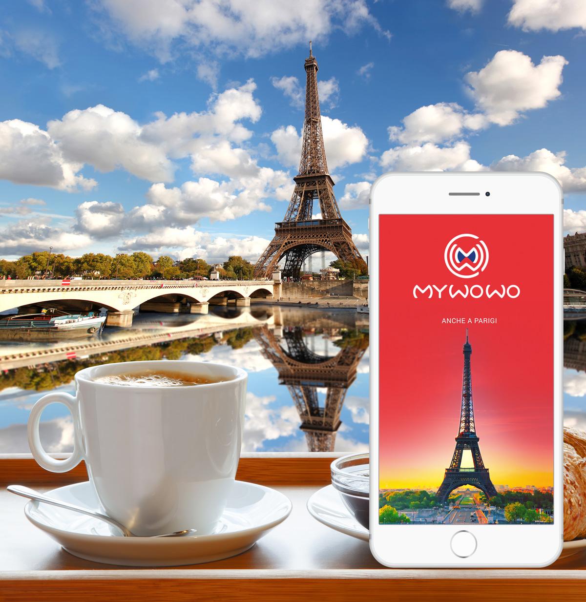 My WoWo, la mia audioguida parigina in un'App