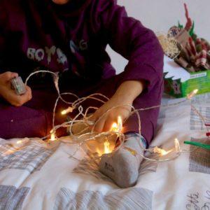 La magia del Natale è la mia casa
