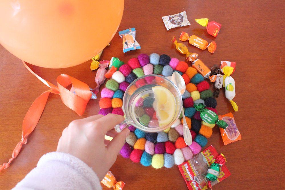 Tappeti colorati e la ricerca della felicità