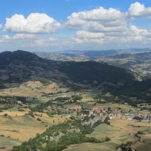In bici tra Romagna e Marche, alla scoperta di una terra di confine