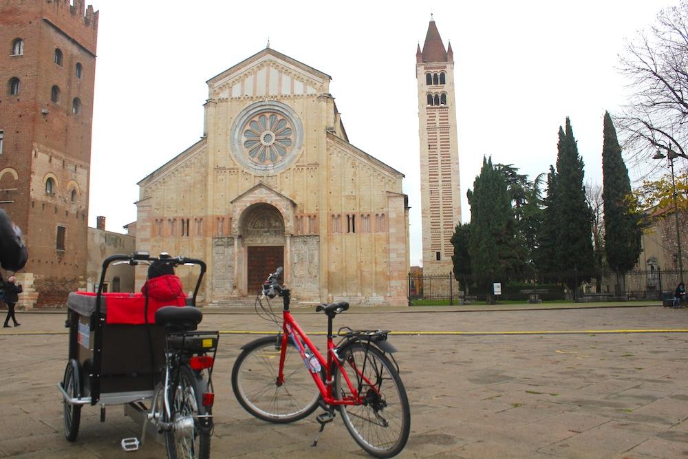 Cargobike tour a Verona