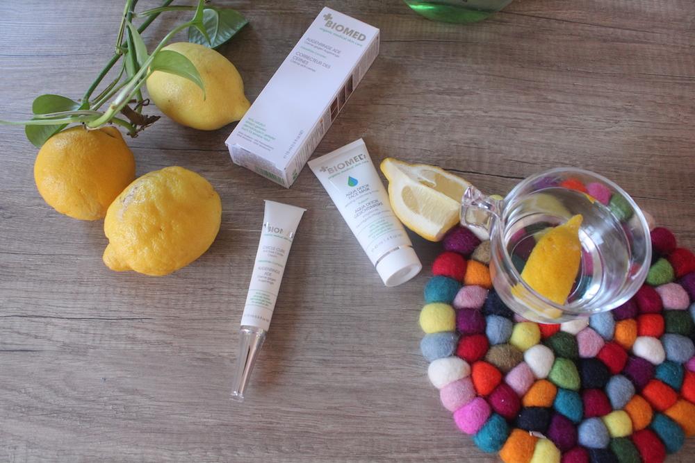 La cura del viso in gravidanza con Biomed