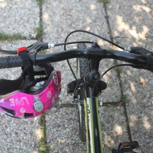 In prima elementare in bicicletta