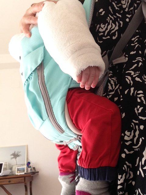 Il babywearing: la mia esperienza e il mio marsupio low cost