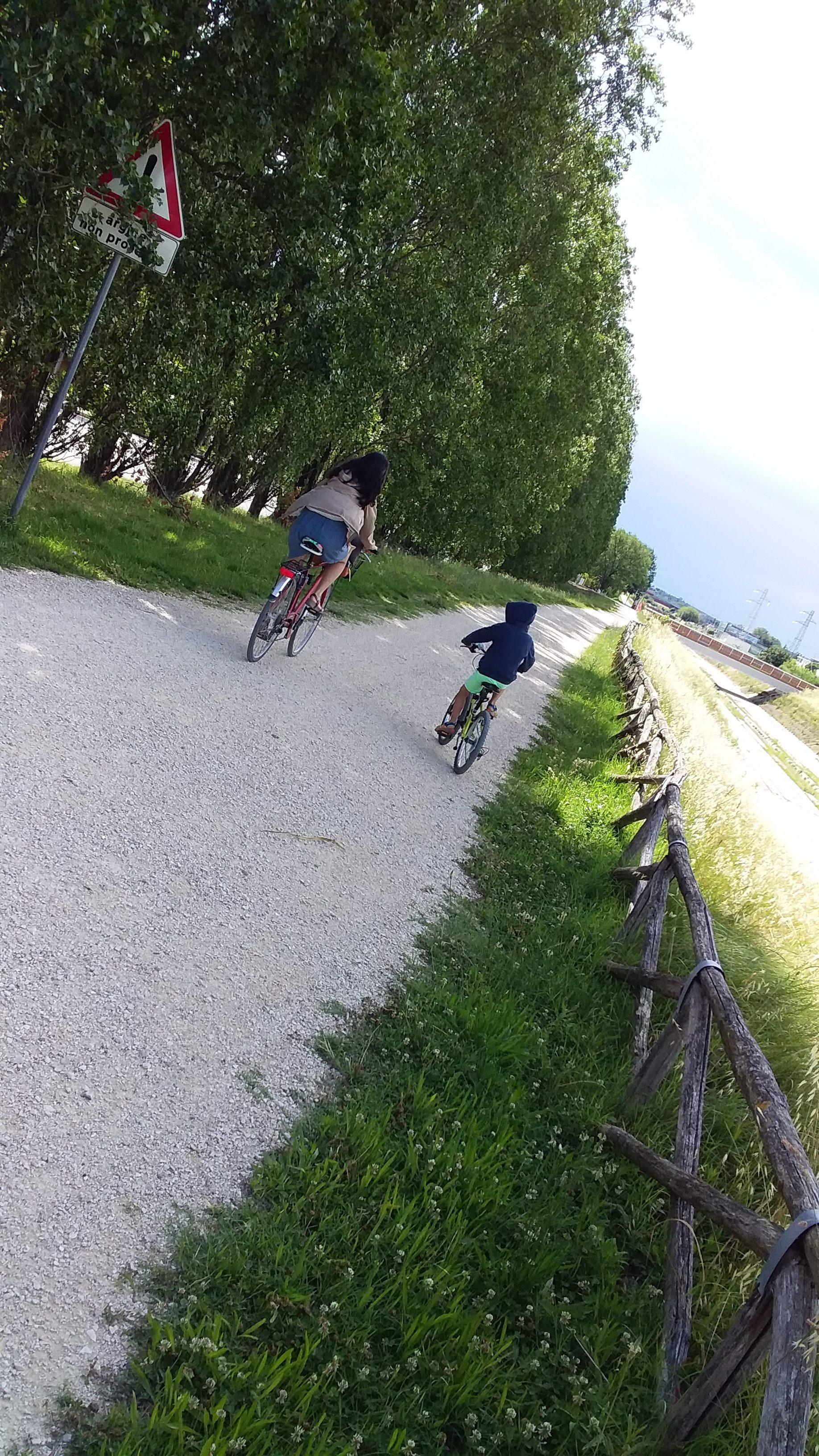 Pedalare a Rimini lungo il fiume Marecchia (con i più piccoli)