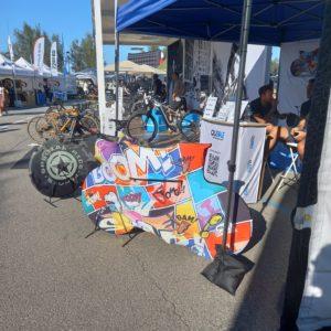 Italian Bike Festival a Rimini tra calzini colorati e sacchi porta bici